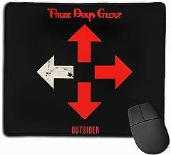 Iuqyzqzaza Three Days Grace Outsider Mouse Pad Paris Picture Laptop Pad Non-Slip Rubber Stitched Edges 11.8 X 9.8 Inch