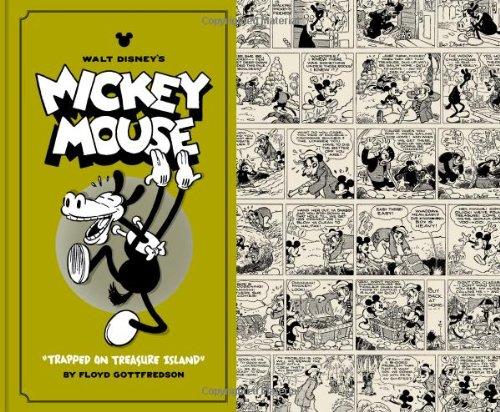 WALT DISNEY'S MICKEY MOUSE VOL 2: Trapped on Treasure Island HC