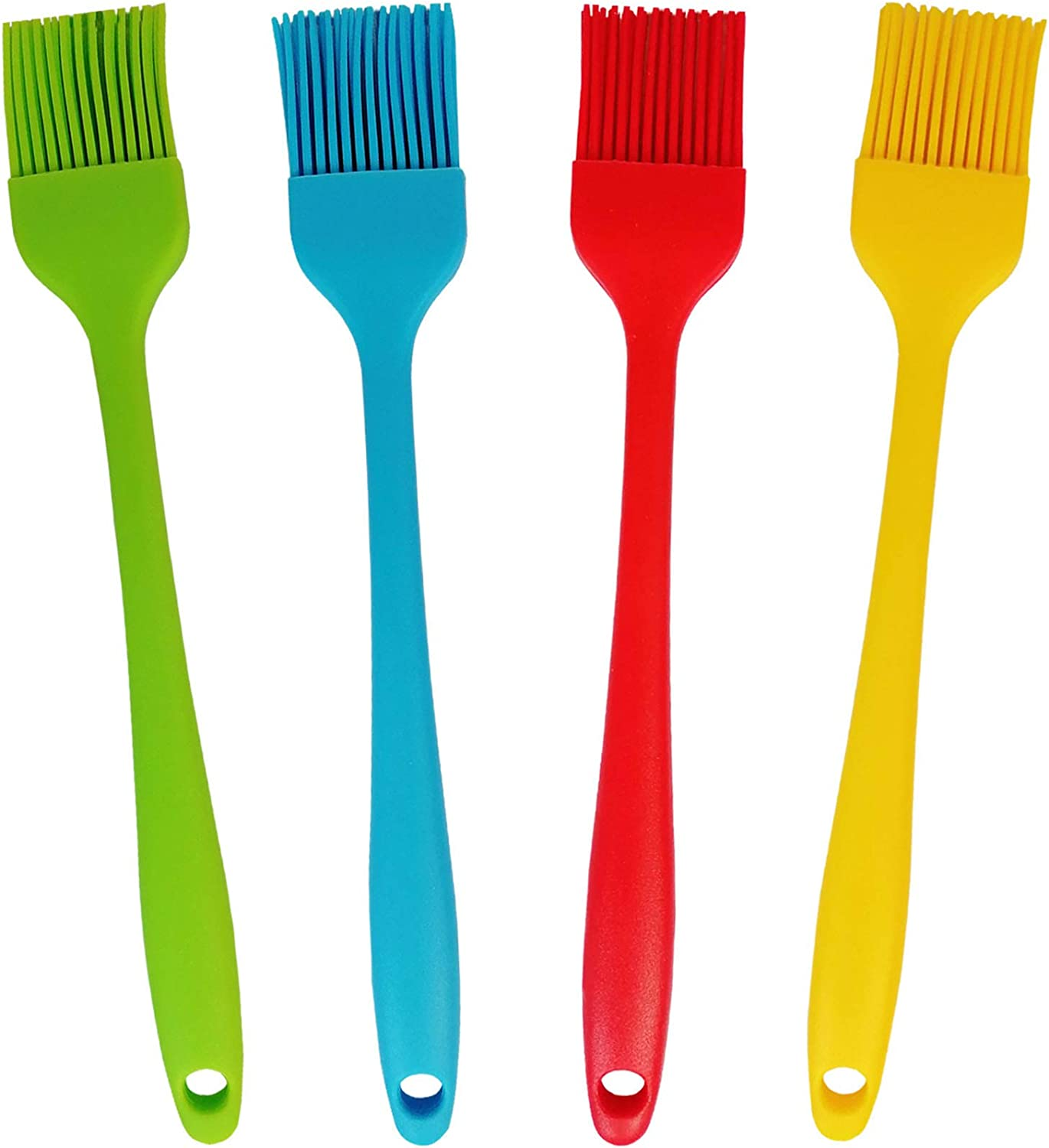 4 Fixed price for sale Pcs 8.5 Inch 1 year warranty Silicone Basting Brush and Pastry