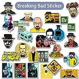 BLOUR 50 unids/Lote American TV Breaking Bad Graffiti Pegatinas para Equipaje monopatín teléfono portátil Bicicleta...