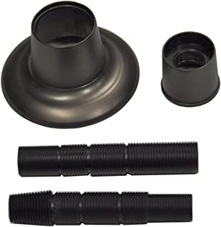 DANCO Universal Adjustable Tub and Shower Handle Flange, Universal, Oil Rubbed Bronze, 1-Kit (10314)