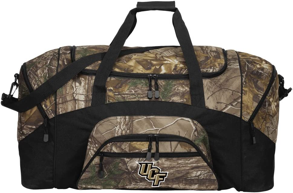 Large Camo University of Central Special sale item Bag UCF Or Florida Duffel Ranking TOP4