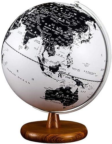 Desktop-Globus Beleuchtete Weltkugel (Dia 32cm) - p gogisch geographisch Moderne Tischplattendekoration Wohnzimmer   Büro Desktop Dekoration   Kreativit