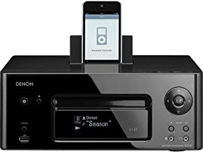 Denon RCD-N7 CD Receiver System, Black (Discontinued by Manufacturer)