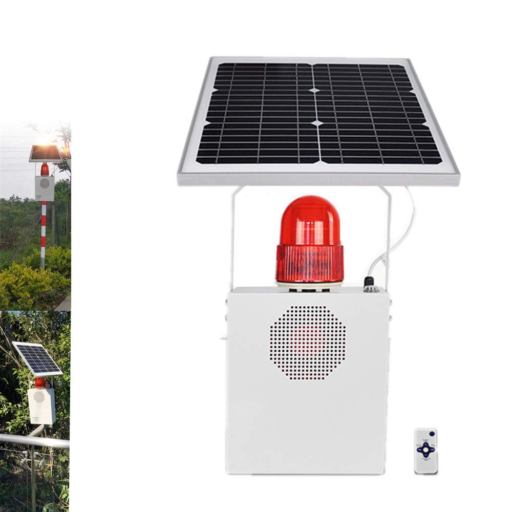 Solar Sound and Max 77% OFF Ranking TOP4 Light Alarm Microwave Siren Horn Induction
