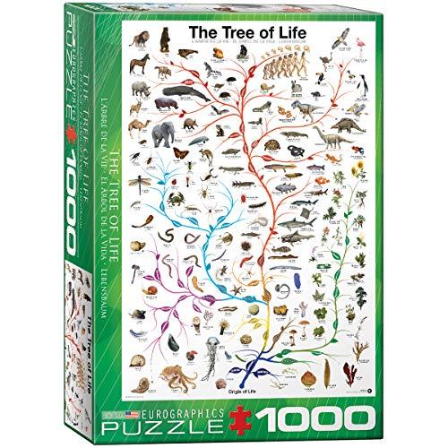 EuroGraphics Puzzle Motif Arbre de Vie - 1000 pièces