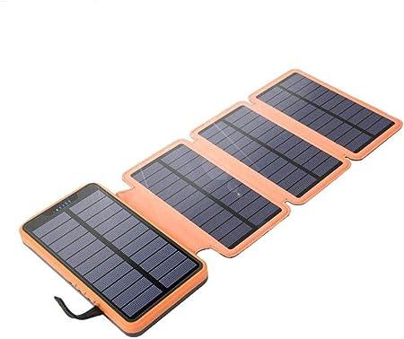 Cargador Solar móvil, Banco de la energía 10000mAh 4 energía ...