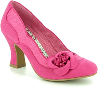 414354bbb Ruby Shoo Women's Veronica Lace Corsage Court Shoe