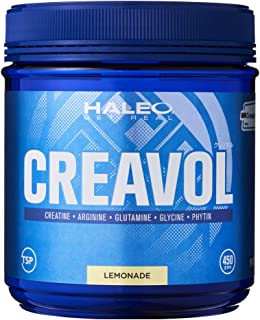 HALEO クレアチン クレアボル 450g レモネード味 全6種成分配合 Creapure ブランド使用
