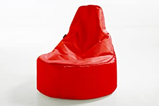 Pouf Daddy The Peardrop Bean Bag Chair, Red, 90 x 120 cm