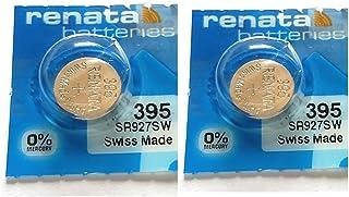 Deux Piles 395 Renata pour Montre (SR927SW)