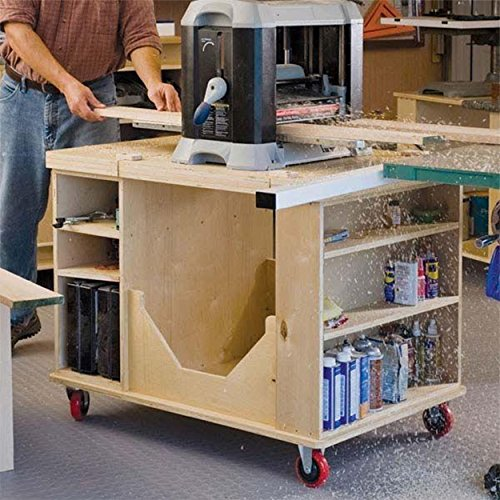 Woodworking Project Paper Plan to Build Flip-Top Cart