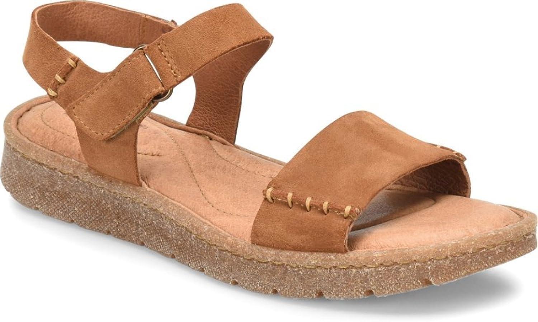 Born Womens Madira Suede Wegde Off-Road Sandals
