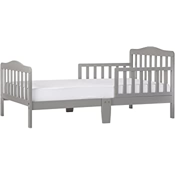 Dream On Me, Classic Design Toddler Bed, Cool Grey
