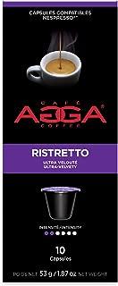 Agga Coffee, Espresso Ristretto, 60 Nespresso Compatible Capsules, Intensity 2/6, Compatible with Nespresso OriginalLine Machines