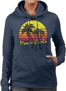 Monte Carlo Vintage Sun Women's Hooded Sweatshirt