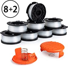 X Home Durable AF-100 Pre-Wound Spools and Caps Combo Set, Compatible with Most Black and..