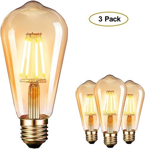 E27 1W LED Edison Filament Lampe Vintag Birne Glühbirne Retro Glühlampe bunt