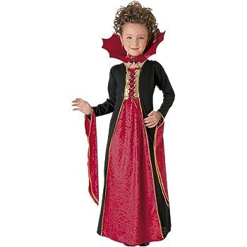 Halloween - Disfraz de Vampiresa gótica para niña, Talla L ...