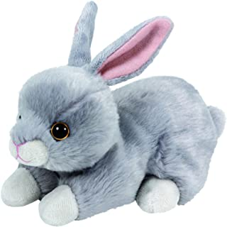 Ty Beanie Babies Nibbler the bunny - 6 inch Gray