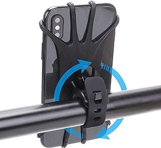 Bike Phone Mount, 360° Rotatable Motorcycle Phone Mount...