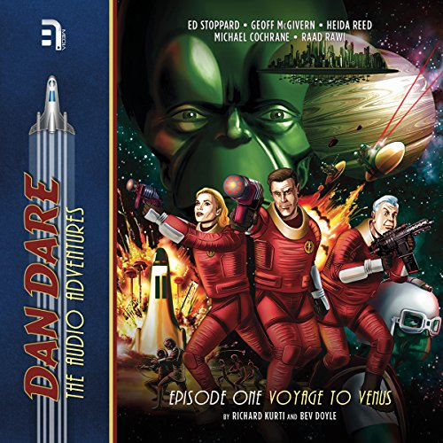 Dan Dare: Voyage to Venus audiobook cover art