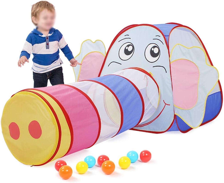 costo real TangMengYun Tienda de Juegos de de de Interior Casa de Juegos Cubierta, Cochepa Pequeña túnel, Elefante de Abeja (Color   azul)  diseños exclusivos