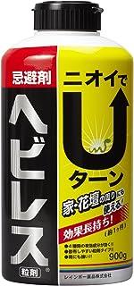 レインボー薬品 ヘビ用忌避剤 ヘビレスお徳用 900g