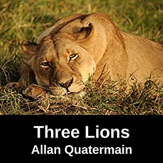 A Tale of Three Lions audiobook cover art