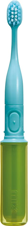 ワゴンサイズグラフィックラドンナ 携帯音波振動歯ブラシ mix (ミックス) MIX-ET グリーン