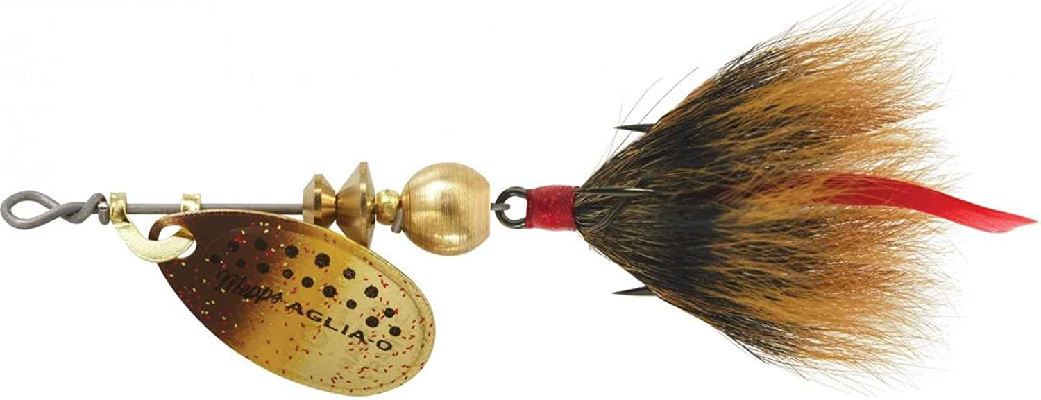 Mepps Aglia Dressed Treble Fishing Max 56% OFF Lure Trout Brown 12-Ounce Clearance SALE Limited time 1
