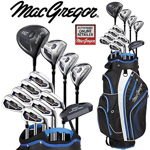MacGregor Dct2000de luxe Sac chariot de golf pour homme All Graphite avec ensemble de + Gratuit...