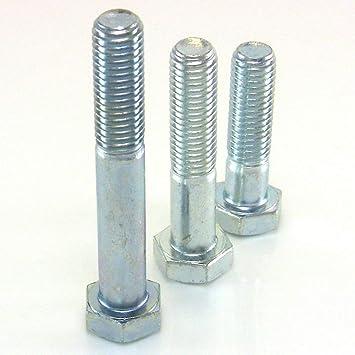 6 x 30 M10 a Sechskantschrauben metrisch mit Teilgewinde 8.8 // M5 50 St/ück