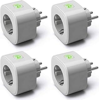 Enchufe Inteligente, Wi-Fi Smart Plug, 16A 3680W, Mide el
