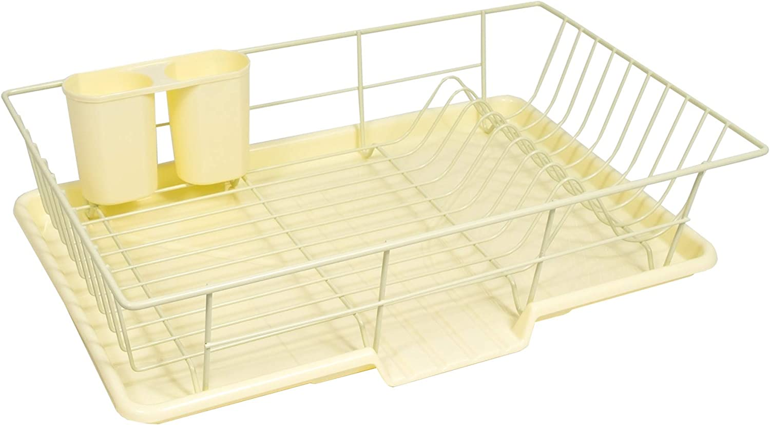 Discount mail order Sweet Home Outlet SALE Collection 3 Piece Dish with Set Rack Drying Drainer