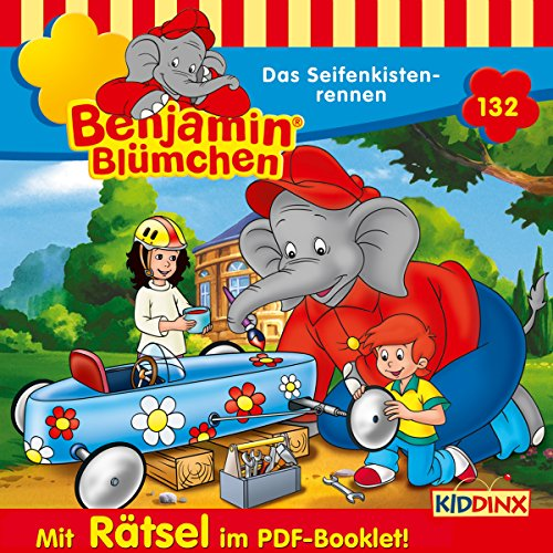 Das Seifenkistenrennen (Benjamin Blümchen 132) Titelbild