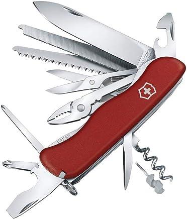Victorinox Taschenmesser Work Work Work Champ (21 Funktionen, Feststellklinge, Zange, Metallsäge) rot B06XD5G5YZ | Spielzeug mit kindlichen Herzen herstellen  1300e4