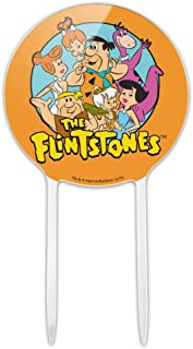 GRAPHICS & MORE Acrylic The Flintstones Group Cake Topper Party Decoration for Wedding Anniversary Birthday Graduation
