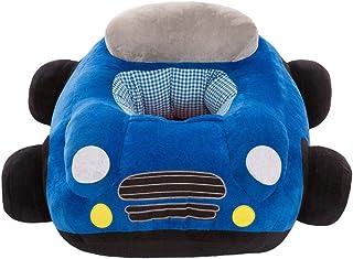 Muebles para niños pequeños Silla for bebé Asiento de apoyo suave for bebés Sofá Niño pequeño Aprendiendo a sentarse Silla Protector Cojín Asiento con forma de coche Silla de comedor Almohada de felpa