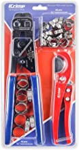 iCrimp Ratchet PEX Cinch Tool with Removing function for 3/8 to 1-inch Stainless Steel..