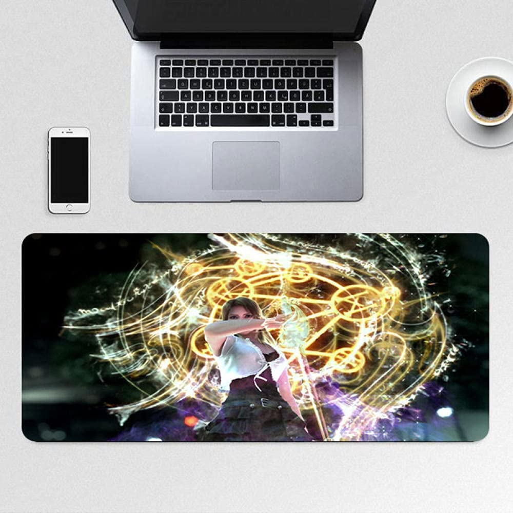Final Fantasy Max 81% OFF Game Theme Mouse Pad for Gifts Edge Laptop Stitched with