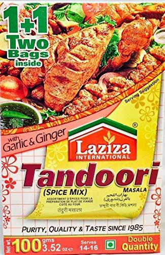 Laziza International Tandoori Masala - 100g - (pack of 3)