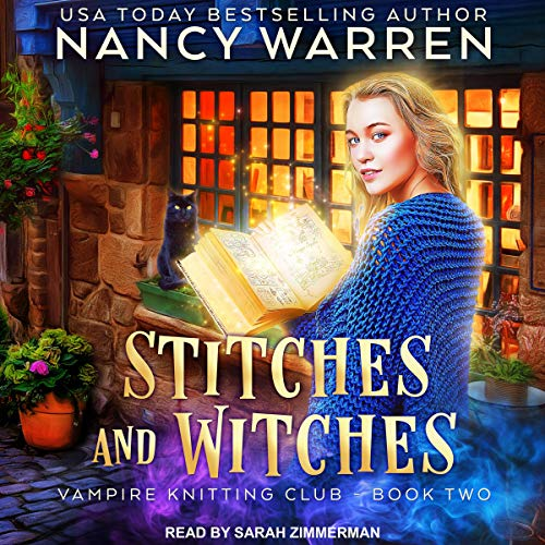 Stitches and Witches audiobook cover art