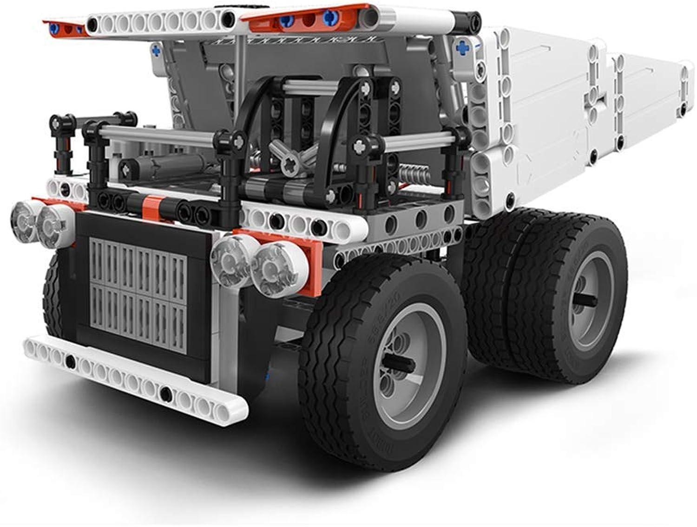 más descuento CMDDYY CMDDYY CMDDYY Juguetes educativos, Bloques de construcción, Modelo de camión minegro, Bloques de construcción, Montaje de Coches de los Niños, Plug-in Juguetes  calidad auténtica