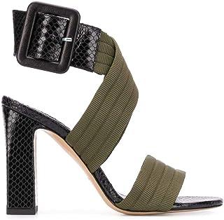 Luxury Fashion | Pinko Women 1P21QXY69KZS1 Black Leather Sandals | Spring-summer 20