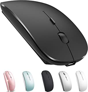 Rechargeable Bluetooth Mouse for Mac Laptop Wireless Bluetooth Mouse for MacBook Pro MacBook Air Windows Notebook MacBook ...