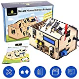 KEYESTUDIO Lot Home Stem Kit for Arduino Kit, Learning Internet of Things, Mechanical Building, Electrical Engineering, Code Educational Coding for Kids Teens Adults