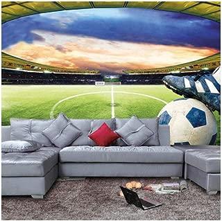 YYNIGHT-Football Stadium Wall Mural Customize Photo Wallpaper Soccer Game Collection Living Room Bedroom Hallway-210cmx150cm