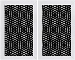 GE JX81J, WB02X11124, WB06X10823, Microwave Recirculating Charcoal Filter (2-Pack)