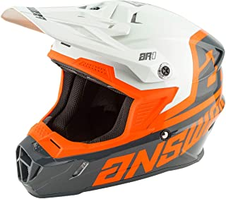 Answer 2020 AR1 Helmet - Voyd (X-Large) (Charcoal/Grey/Orange)